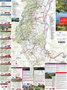 Carte Alsace A Velo.Carte Itineraires Alsace A Velo Wintzenheim