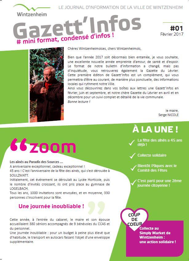 Gazett'Infos n°1